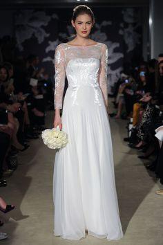 The Chantalle gown #CarolinaHerrera #bridal