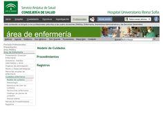 Acceso gratuito. Modelo de cuidados, diagnósticos, procedimientos, registros del Hospital Reina Sofía Templates, Medicine