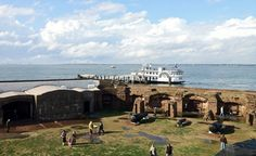 No self-respecting history buff would miss Fort Sumter, where the Civil War's first shots were fired. Charleston South Carolina, Charleston Sc, Fort Sumter, Good Ole, Heaven On Earth, Budget Travel, See Photo, Spring Break, Just Go