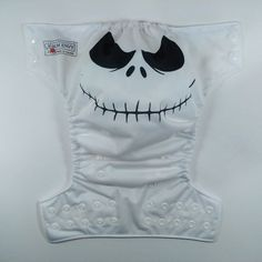 Jack Skellington Inspired O/S Pocket Cloth Diaper in by bumenvy