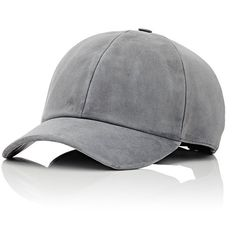 Vianel Suede Baseball Cap ($320) ❤ liked on Polyvore featuring men's fashion, men's accessories, men's hats, hats, men, accessories, caps and black