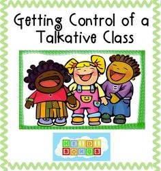 Getting Control of a Talkative Class: Practical tips to help pre-K, and first grade teachers teach a group of very chatty, social, verbal, and WONDERFUL children! Kindergarten Classroom Management, Preschool Classroom, School Counseling, Future Classroom, In Kindergarten, Classroom Organization, Classroom Ideas, Classroom Rules, Behaviour Management