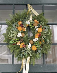 Deck the halls with bags of fruit.... - The Everyday Home