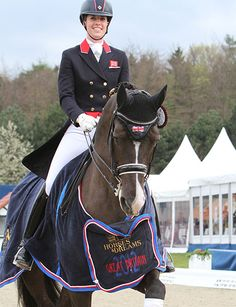 "Charlotte and Valegro. I love ""Blueberry"""