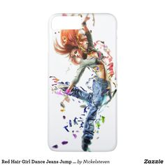 Shop Red Hair Girl Dance Jeans Jump Blue Pink Body Case-Mate iPhone Case created by Nickelsteven. Girl Cases, Girls With Red Hair, Pink Body, Fall Nail Colors, Nail Designs Spring, Super Hair, Trendy Nails, Trendy Hairstyles, Red And Pink