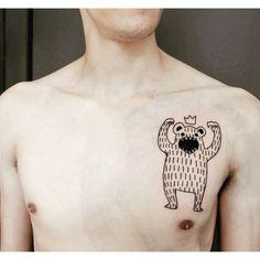 #grahou #tattoo #blackwork #teddybear #deuilmerveilleux