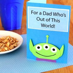 Toy Story Three-Eyed Alien template from Disney perfect for creating a scrapbook page: print and cut, use a slihouette to trace and cut, or create a digital scrapbooking template