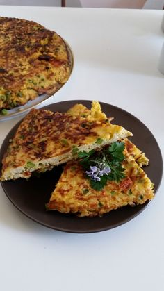 Savoury pie recipe with rice and peas - the Spring dish - http://easyitaliancuisine.com/savoury-pie-recipe-with-rice-and-peas/