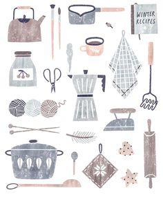 "627 mentions J'aime, 5 commentaires - helene cella (@iforgotmylifeinthebus) sur Instagram: ""Good morning  #illustration by Nastia Sleptsova @nastiasleptsova"""
