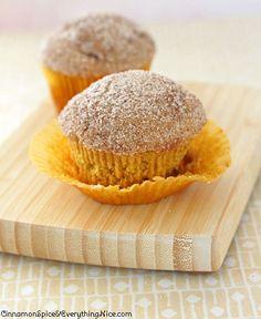 11. Pumpkin Doughnut Muffins   Community Post: 101 Pumpkin Recipes From Drinks To Dessert