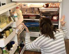 under 20 dollar tree fridge makeover, appliances