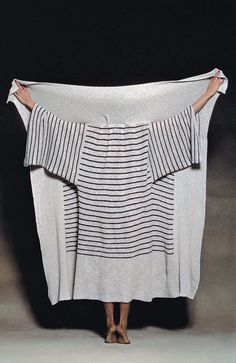 Issey Miyake, Jacket from the A-POC (A Piece Of Cloth) Collection ph. Noriaki Yokosuka, 1976