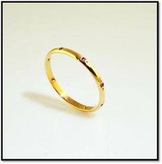 Coleção Miscelânea - Em ouro amarelo 18k e rubis