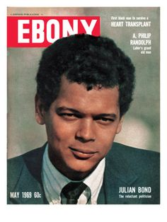 Yeah had a big crush on Julian Bond | Ebony May 1969 Photographic Print by Hal Franklin at AllPosters.com