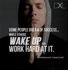 What a better inspiration then Eminem