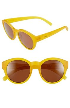 7f56559b6157 Zeal Optics 49mm Biodegradable Plant Based Round Sunglasses available at   Nordstrom Rainbow Dress Up