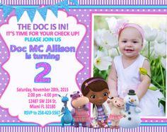 Doc McStuffins invitación Doc McStuffins cumpleaños por FirstTrendy