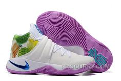 "c1d49ab34d9960 Nike Kyrie 2 ""Easter"" White Hyper Jade-Urban Lilac-Bright Mango Online"