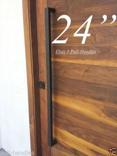 Door-Ladder-Pull-Handle-24-600mm-Matte-Black-Stainless-Steel-Front-Entry-Modern