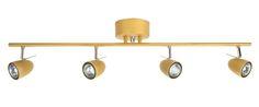 Thor-kattokohdevalaisin, 24,95 €. Terästä. Kääntyvät lamppuosat. Lamppu (GU10, enintään 35 W) myydään erikseen. Pituus: 85 cm. Norm. 44,95 €.  CLAS OHLSON, 3. KRS