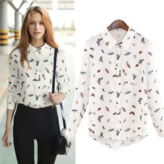 Find More Blouses & Shirts Information about Summer Fall Outfit For Women 2016 Vintage Style Blouse Suit dress Street Style Animal Print Shirts Feminine Blusa,High Quality shirt polyester,China shirt rivet Suppliers, Cheap shirt sport from Lolo Moda on Aliexpress.com