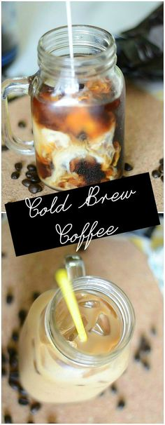 How to make cold brew coffee.  This is so easy and I can drink it for two weeks!