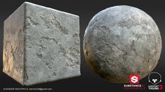 ArtStation - Personal Project: Rough Concrete Material, Alexandr Nechitaylo