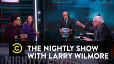 The Nightly Show - Panel - Bernie Sanders Makes His Case for 2016 & a Potential Running Mate?  1-6-16 [Elizabeth Warren?]