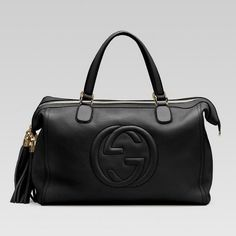 5afcd00f643 282306 1000 Gucci soho tote with embossed interlocking G and tassels -  Dobestbuy