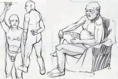 Life drawings session, Malt Cross, Nottingham. http://iangordoncraig.blogspot.co.uk/2017/01/back-to-life.html