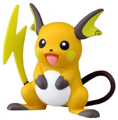 "Takaratomy Official Pokemon X and Y MC-047 2"" Raichu Action Figure Takara Tomy http://www.amazon.com/dp/B00JL5YI44/ref=cm_sw_r_pi_dp_0zjMvb09QN9VE"