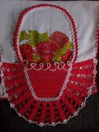 panos de prato com croche - Pesquisa Google Crochet Towel, Love Crochet, Crochet For Kids, Crochet Baby, Diy Projects To Try, Crochet Projects, Hairpin Lace, Crochet Squares, Bobbin Lace