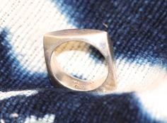 Sterling Silver Square Ring Stacking – Yourgreatfinds