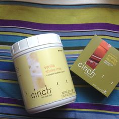 CINCH inch loss plan and energy tea mix! Awesome products to help with weight loss and health.  Https://anniemcniel.myshaklee.com