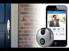 iDoorCam: WLAN-Türklingel mit Kamera und Gegensprechanlage lässt Smartphone klingeln - foerderland