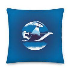 Throw Pillow Cases, Throw Pillows, Bigfoot, Ufo, Pillow Inserts, Printing, Zipper, Artwork