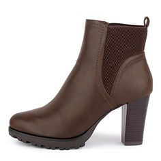 best-boots Damen Stiefelette mit Absatz Stiefel BenkeyB Mevina Grau 1462  Größe 38  Amazon.de  Schuhe   Handtaschen 0093745cdf