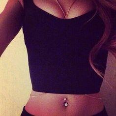 #piercings #umbigo #girl