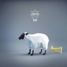 Image result for low poly sheep