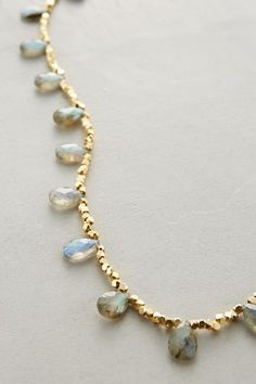 Labradorite Zermatt Necklace - anthropologie.com #anthroregistry