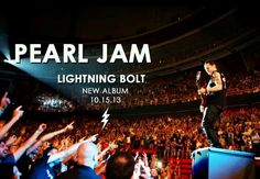 Pearl Jam Lightning bolt So amazing! Kinds Of Music, Music Is Life, My Music, Rock N Roll Music, Rock And Roll, Pearl Jam Eddie Vedder, Take Me To Church, Kings Of Leon, Film Music Books