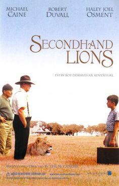 Secondhand Lions http://media-cache6.pinterest.com/upload/62698619781826256_CUSyxzsE_f.jpg jeanm_akers favorite movies