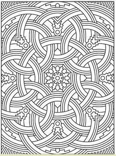 Coloring for adults - Kleuren voor volwassenen Cool Coloring Pages, Coloring Pages For Grown Ups, Mandala Coloring Pages, Printable Coloring Pages, Adult Coloring Pages, Coloring Sheets, Coloring Books, Geometric Coloring Pages, Zentangles