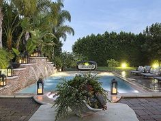 Khloe Kardashian's California Home: Pool
