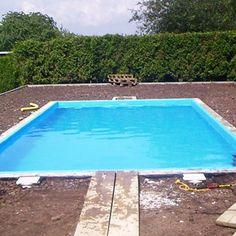 Pool selber bauen Schritt für Schritt Pool zaun, Pool