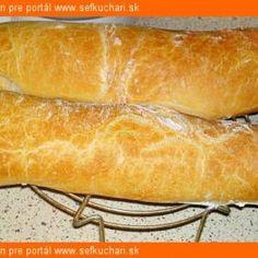 Kvásková ciabatta - Sefkuchari.sk Hot Dog Buns, Hot Dogs, Ciabatta, Bread, Food, Brot, Essen, Baking, Meals