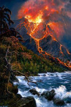 eruption stormbyMOHIT GHANAWAT ~chicagobrunette~