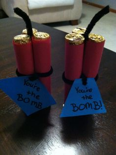 Encouragement treats