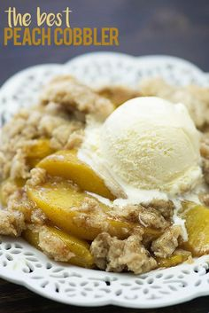 This peach cobbler recipe is made with a super simple filling of fresh or frozen peaches, brown sugar, and cinnamon. The cobbler topping is outrageously good and you won't be able to stop nibbling on it! It's about this time of year that I start trying to hurry in summer. I can't deal with another …