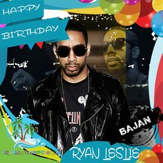 Happy Birthday Ryan Leslie!!! R&B Singer / Producer born of Bajan descent!!! Today we celebrate you!!! @RyanLeslie #RyanLeslie #islandpeeps #islandpeepsbirthdays #Superphone #MusicProducer #Singer #Barbados